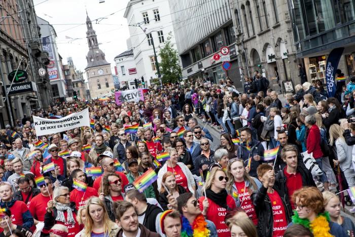 Quelle: Christer Nexmark / Oslo Pride
