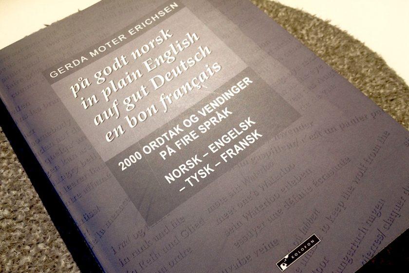 2000 norsk ordtak og vendinger Gerda Moter Erichsen