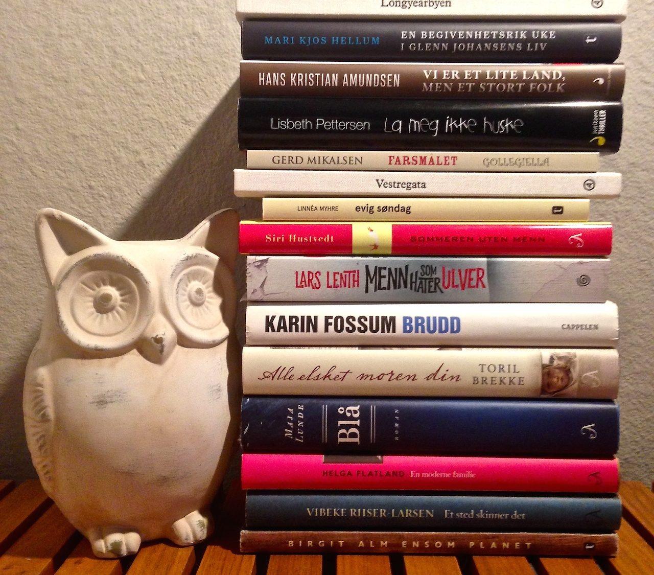 bøker lest i 2018